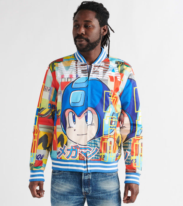 Freeze  Mega Man Reversible Bomber Jacket  Multi - MD60019-MUL | Jimmy Jazz