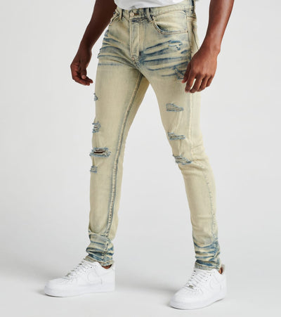 MACKEEN  Mosey Jeans L34  Blue - MK200MOSEY-IND | Jimmy Jazz