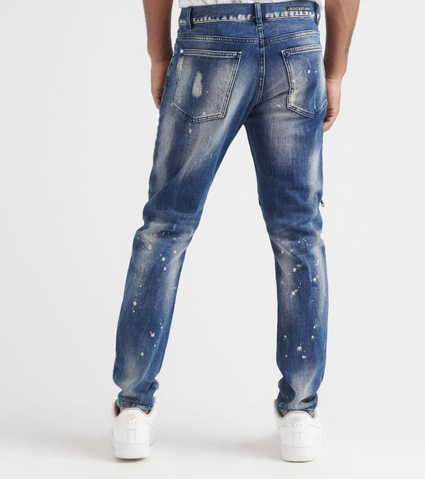 Rock Star  August Jeans  Blue - MK207TWN-IND | Jimmy Jazz