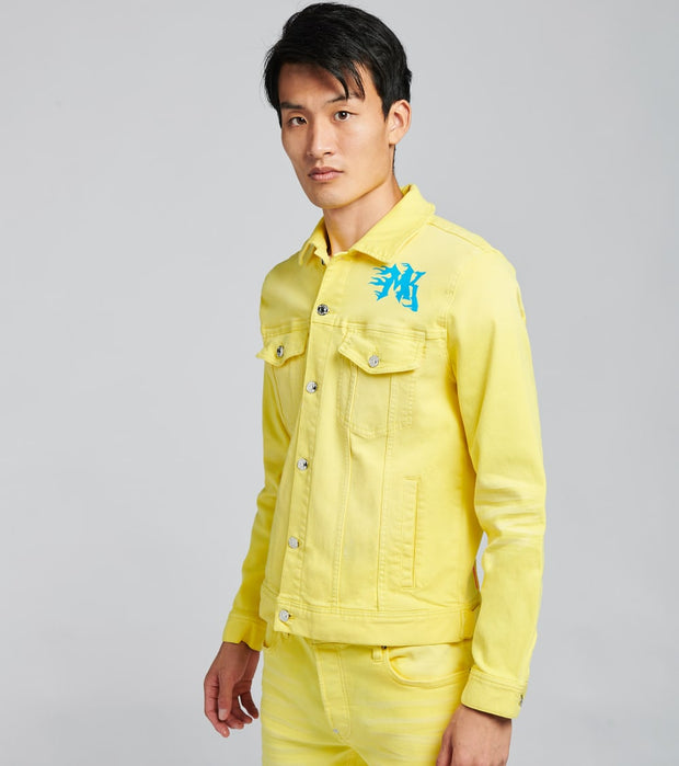 MACKEEN  Malibu Jacket  Yellow - MK300MLBU-YLW | Jimmy Jazz