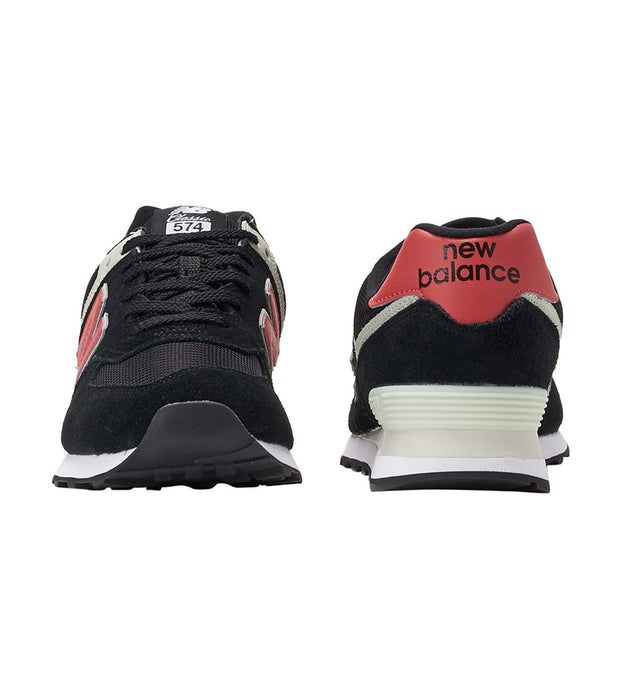 New Balance  574 Lifestyle Shoe  Black - ML574SMP | Jimmy Jazz