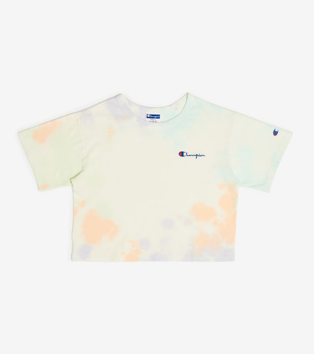 Champion  Cloud Dye Gym Crop Top   White - ML5767-1G5 | Jimmy Jazz