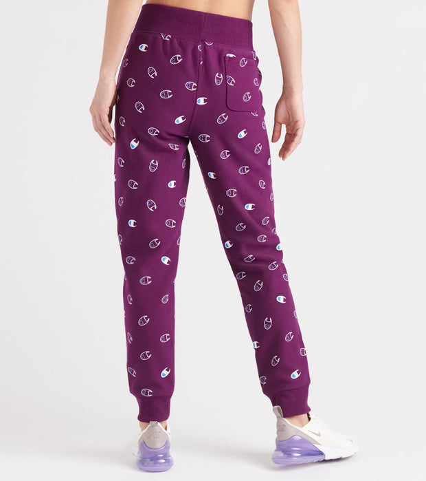 Champion  Reverse Weave Jogger  Purple - ML777P-8Y | Jimmy Jazz