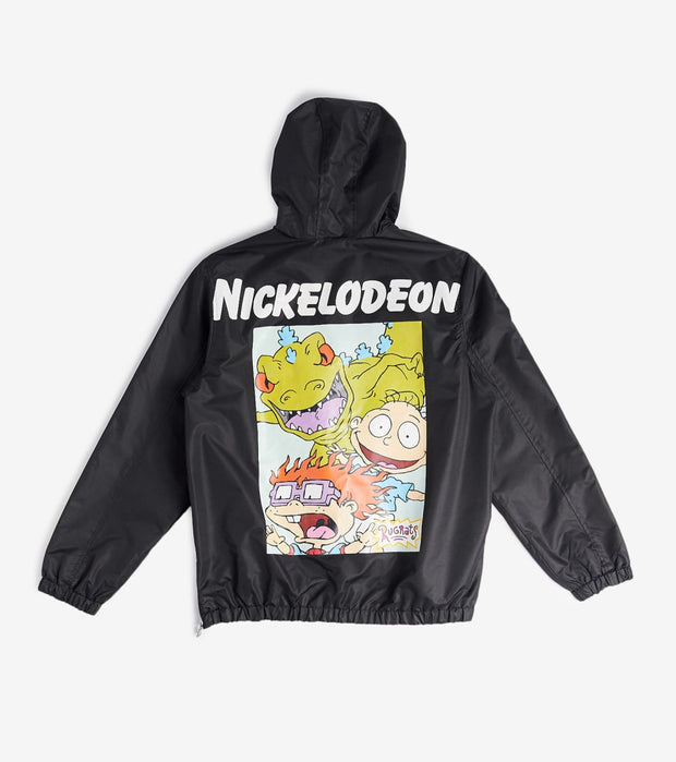 Members Only  Nickelodeon Roar 3 Quarter Zip Jacket  Black - MN040013-BLK | Jimmy Jazz