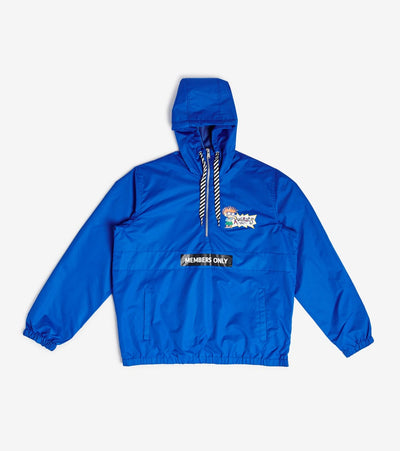 Members Only  Nickelodeon Roar 3 Quarter Zip Jacket  Blue - MN040013-EBL | Jimmy Jazz