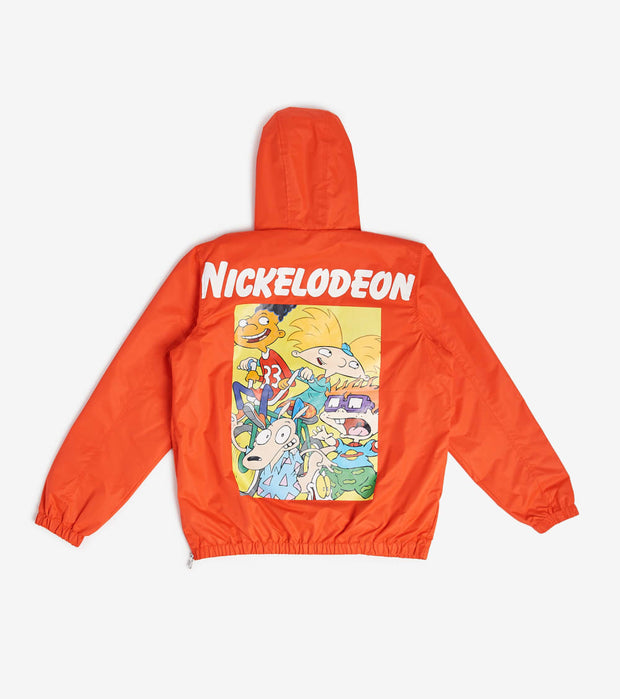 Members Only  Nickelodeon Roar 3 Quarter Zip Jacket  Orange - MN040013-ORG | Jimmy Jazz