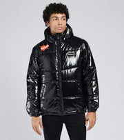 Members Only  Nickelodeon Puffer Jacket  Black - MN050120-BLK | Jimmy Jazz