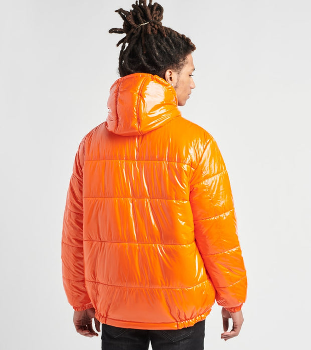 Members Only  Nickelodeon Puffer Coat  Orange - MN050120-ORG | Jimmy Jazz