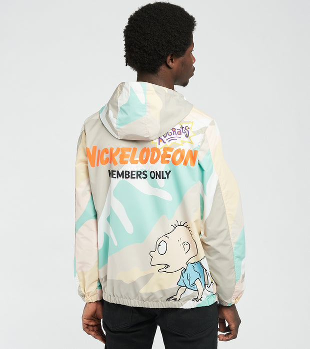Members Only  Rugrats Print Jacket  Camo - MN060101-PAC | Jimmy Jazz