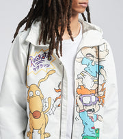 Members Only  Chuckie and Tommy Jacket  White - MN060103-WHT | Jimmy Jazz