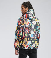Members Only  Rugrats All Over Print Jacket  Black - MN060105-BLK | Jimmy Jazz