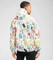 Members Only  Rugrats All Over Print Jacket  White - MN060105-WHT | Jimmy Jazz