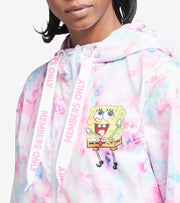 Members Only  Sponge Bob Cloud Dye Wind Breaker Jacket  Pink - MNL160101-PNK | Jimmy Jazz