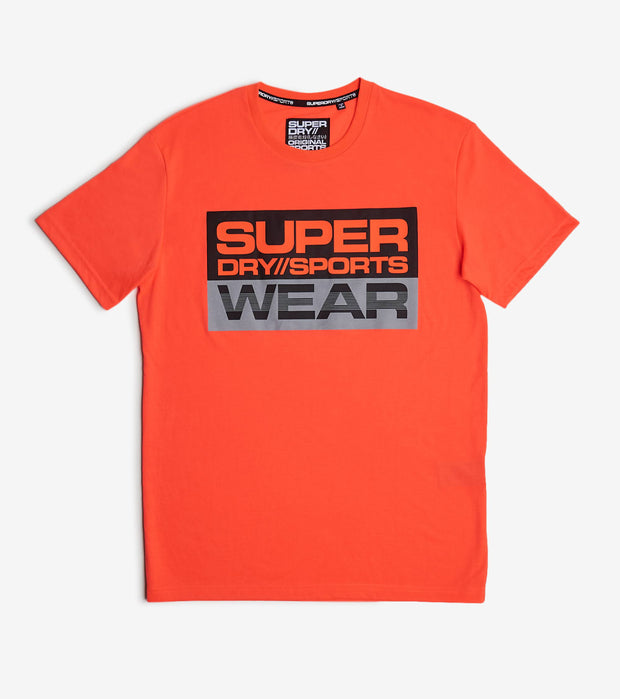 Superdry  Streetsport Graphic Tee  Orange - MS300025A-8SO | Jimmy Jazz