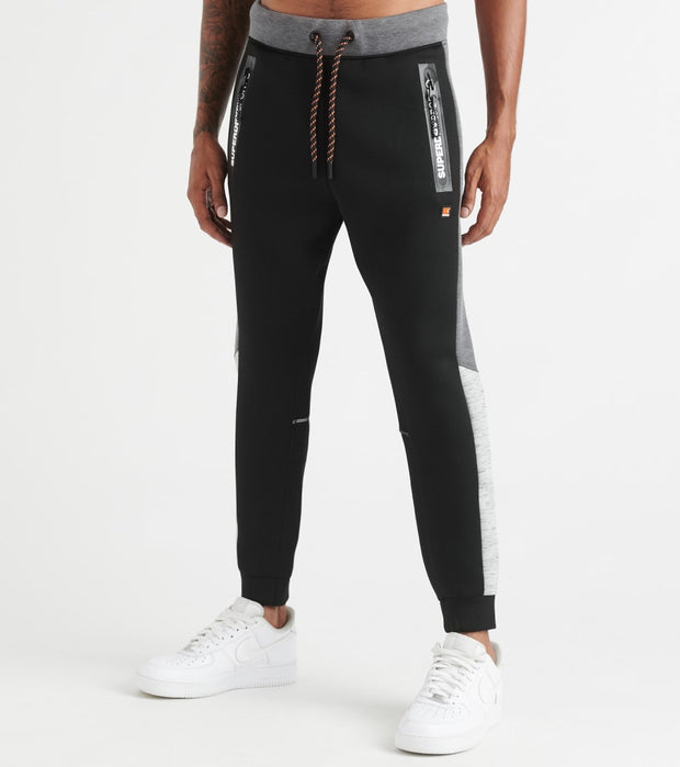 Superdry  Gymtech Colorblock Joggers  Black - MS3060AU-Q4F | Jimmy Jazz