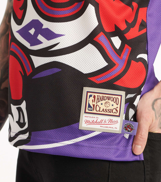 Mitchell And Ness  Big Face Raptors Jersey  Purple - MSTKBW19068-TOR | Jimmy Jazz