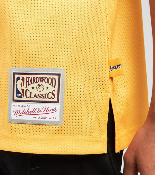 Mitchell And Ness  LA Lakers Blown Out Fashion Jersey  Gold - MSTKBW19146LAL-LTGD | Jimmy Jazz