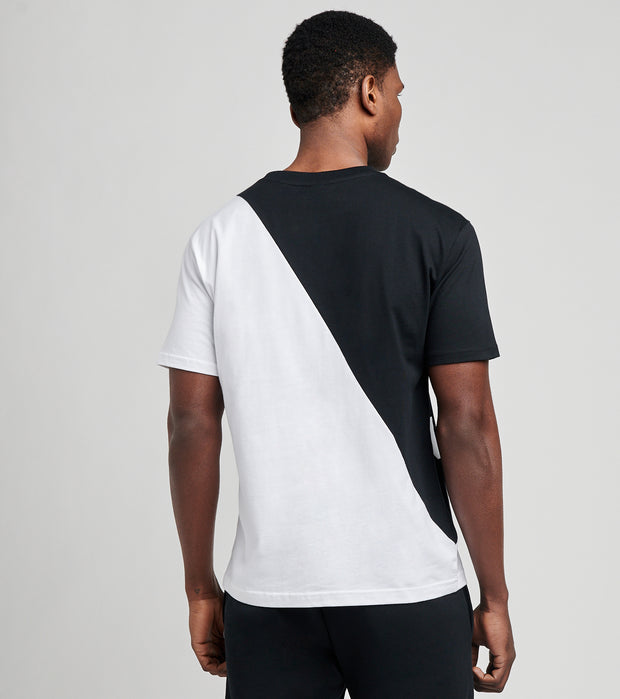 New Balance  Athletics Splice Short Sleeve Tee  Black - MT11513-BM | Jimmy Jazz