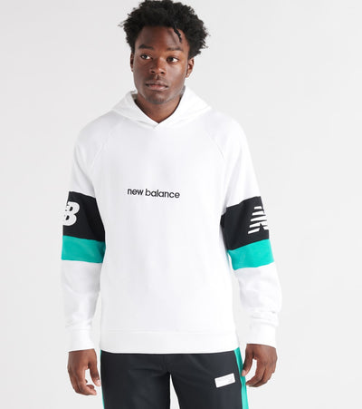 New Balance  Athletics Classic Pullover Hoodie  White - MT93503-WT | Jimmy Jazz