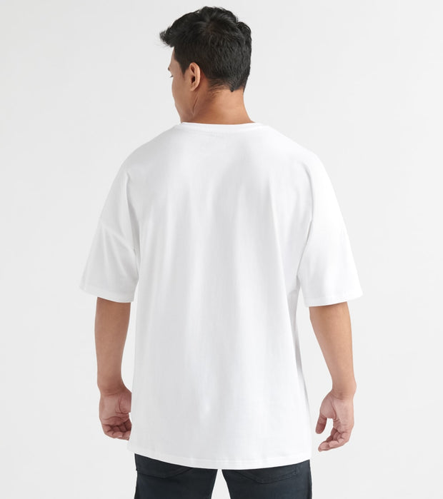 New Balance  Optiks Oversized SS Tee  White - MT93514-WT | Jimmy Jazz