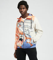 Members Only  Tazmanian and Bugs Print Jacket  Orange - MW060201-ORG | Jimmy Jazz