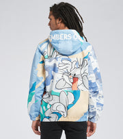 Members Only  Bugs Bunny Print Jacket  Blue - MW060203-BCA | Jimmy Jazz