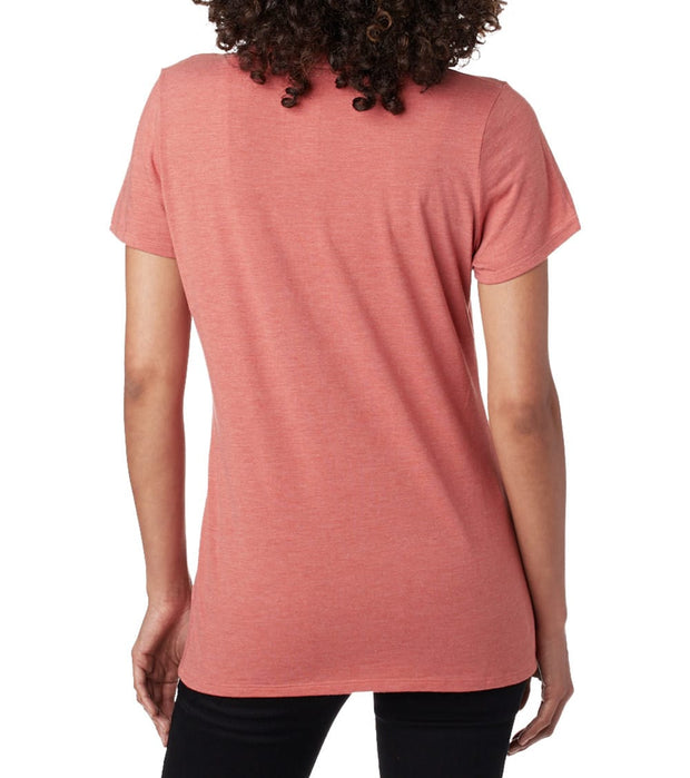 The North Face  Half Dome Triblend Crew Tee  Pink - NF0A3M9Z-VCG | Jimmy Jazz