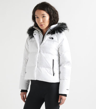 The North Face  Dealio down Crop Jacket  White - NF0A3XAJ-FN4 | Jimmy Jazz