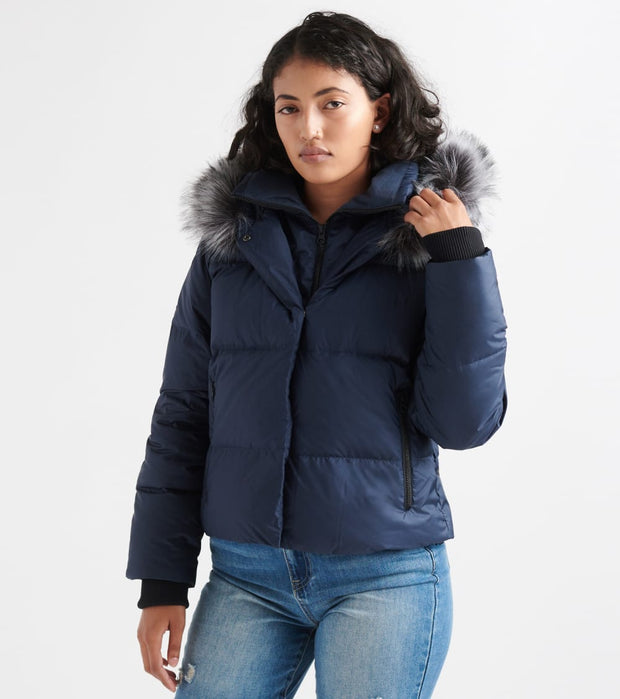 The North Face  Dealio Down Crop Jacket  Navy - NF0A3XAJ-H2G | Jimmy Jazz