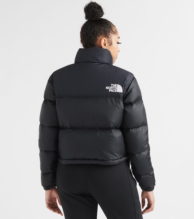 The North Face  Nuptse Crop Jacket  Black - NF0A3XE2-JK3 | Jimmy Jazz