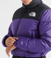 The North Face  Nuptse Crop Jacket  Purple - NF0A3XE2-N5N | Jimmy Jazz