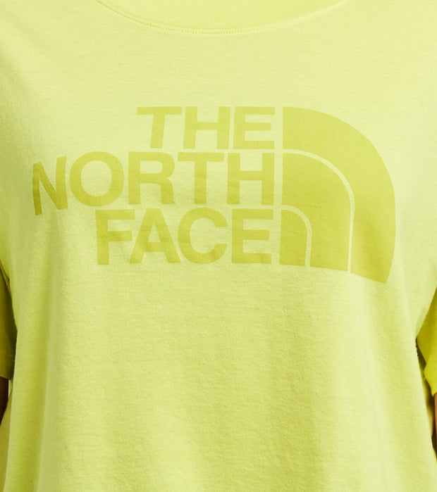 The North Face  Half Dome Cropped Tee  Green - NF0A4AUF-JE3 | Aractidf