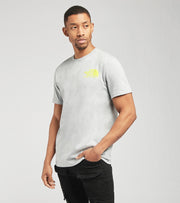 The North Face  Coordinates Short Sleeve Tee  Grey - NF0A52Y8-DYX | Jimmy Jazz