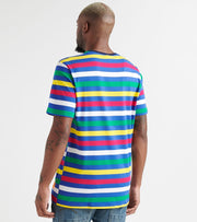Freeze  Dil Striped Tee  Multi - NK10008-MUL | Jimmy Jazz