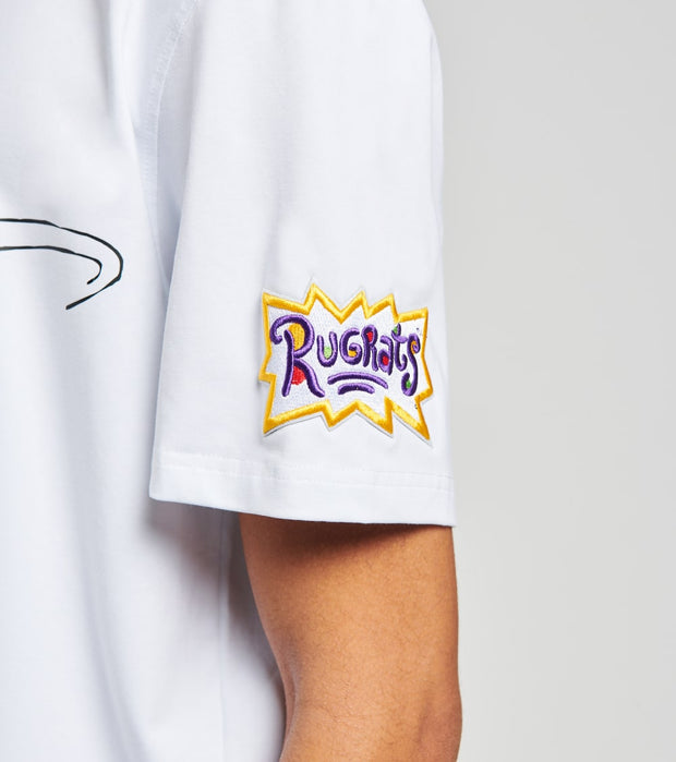Freeze  Rugrats Pitcher Tommy Short Sleeve Tee  White - NK10135-WHT | Jimmy Jazz