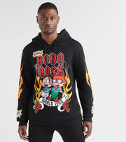Freeze  Rugrats Born to Rock Hoody  Black - NK50033-BLK | Jimmy Jazz