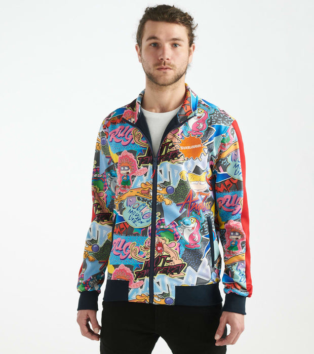 Freeze  Ren and Stimpy Track Jacket  Multi - NK60067-MUL | Jimmy Jazz