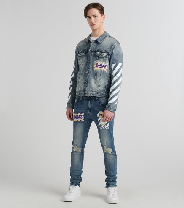 Freeze  Caution Rugrats Tommy Denim Jacket  Blue - NK60090-MDW | Jimmy Jazz