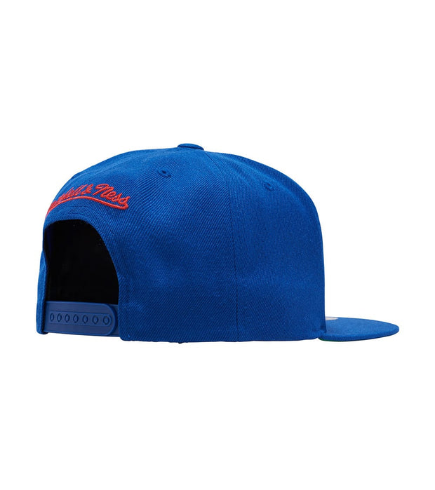 Mitchell And Ness  76ers Wool Snapback  Blue - NL15ZTPC576ERS | Jimmy Jazz