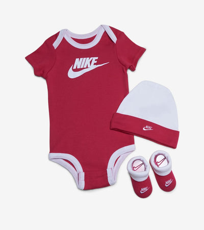Nike  Core Futura Blanket 3-Piece Set  Pink - NN0451-A4Y | Jimmy Jazz