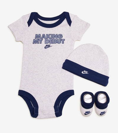 Nike  Attitude 3 Piece Set  Grey - NN0647-W67 | Jimmy Jazz