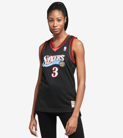 Mitchell And Ness  Swingman Jersey Sixers Iverson  Black - NNBJEL18120-AIV | Jimmy Jazz