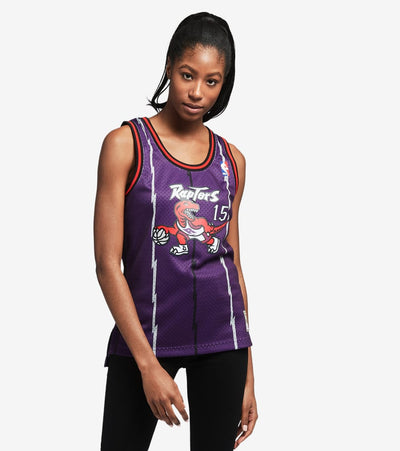 Mitchell And Ness  Swingman Jersey Raptors Carter  Purple - NNBJEL18120-VCA | Jimmy Jazz