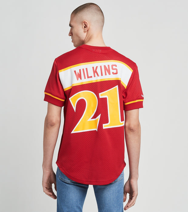 Mitchell And Ness  Atlanta Hawks Dominique Wilkins Jersey  Red - NNMPSC19040AHA-SCAR | Jimmy Jazz