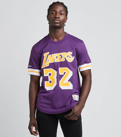 Mitchell And Ness  Lakers Magic Johnson 32 Jersey  Purple - NNMPSC19040LAL-PURP | Jimmy Jazz