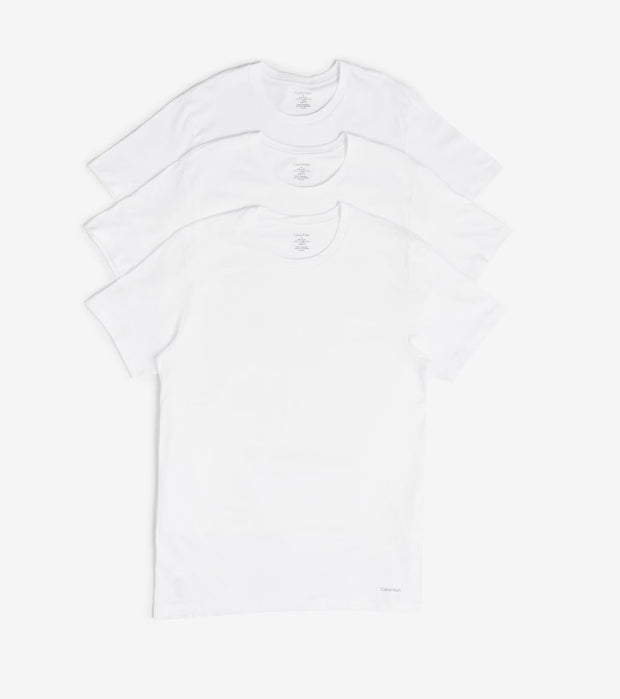 Calvin Klein  Classic Crew Neck 3 Pack  White - NP2205O-100 | Jimmy Jazz