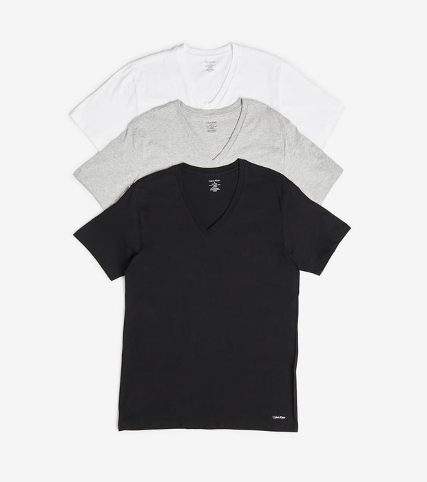 Calvin Klein  Classic V Neck 3 Pack  Multi - NP2206O-900 | Jimmy Jazz