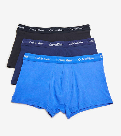 Calvin Klein  3 Pack Trunk Boxer  Blue - NU2664-062 | Jimmy Jazz