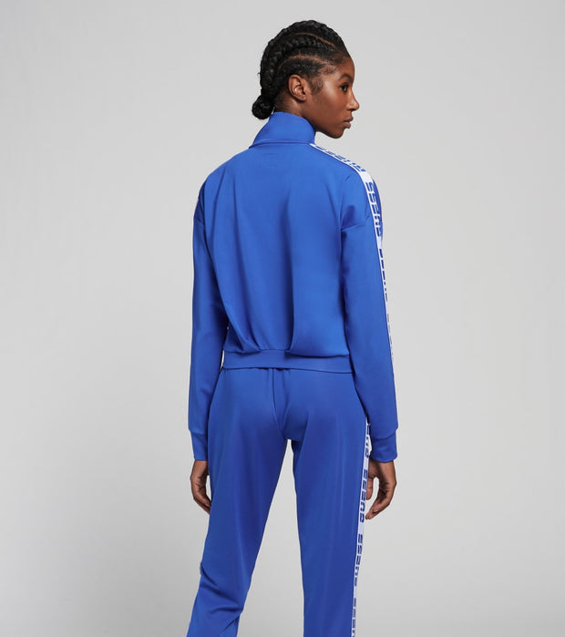 Guess  Zip-Up Track Jacket  Blue - O0BA93FL032-WLBL | Jimmy Jazz