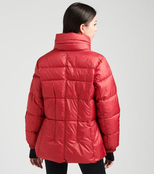 Essentials  Puffer Jacket  Red - OLA1250H-RED | Jimmy Jazz